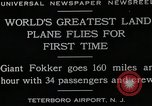 Image of men Teterboro airport New jersey USA, 1928, second 10 stock footage video 65675027464