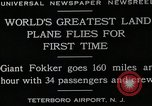 Image of men Teterboro airport New jersey USA, 1928, second 12 stock footage video 65675027464
