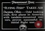 Image of pilot Dayton Ohio USA, 1928, second 1 stock footage video 65675027467