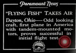 Image of pilot Dayton Ohio USA, 1928, second 2 stock footage video 65675027467