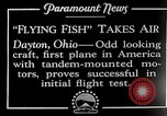 Image of pilot Dayton Ohio USA, 1928, second 3 stock footage video 65675027467