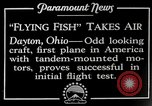 Image of pilot Dayton Ohio USA, 1928, second 6 stock footage video 65675027467