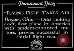 Image of pilot Dayton Ohio USA, 1928, second 7 stock footage video 65675027467
