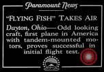 Image of pilot Dayton Ohio USA, 1928, second 8 stock footage video 65675027467
