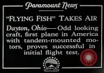 Image of pilot Dayton Ohio USA, 1928, second 9 stock footage video 65675027467