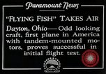 Image of pilot Dayton Ohio USA, 1928, second 10 stock footage video 65675027467