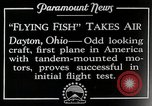 Image of pilot Dayton Ohio USA, 1928, second 11 stock footage video 65675027467