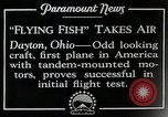 Image of pilot Dayton Ohio USA, 1928, second 12 stock footage video 65675027467