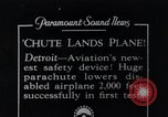 Image of pilot Detroit Michigan USA, 1935, second 1 stock footage video 65675027479