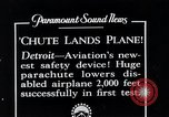 Image of pilot Detroit Michigan USA, 1935, second 2 stock footage video 65675027479