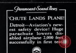 Image of pilot Detroit Michigan USA, 1935, second 4 stock footage video 65675027479
