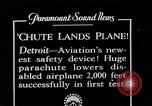 Image of pilot Detroit Michigan USA, 1935, second 5 stock footage video 65675027479