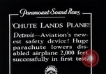 Image of pilot Detroit Michigan USA, 1935, second 8 stock footage video 65675027479