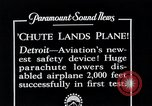 Image of pilot Detroit Michigan USA, 1935, second 9 stock footage video 65675027479