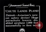 Image of pilot Detroit Michigan USA, 1935, second 10 stock footage video 65675027479