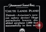 Image of pilot Detroit Michigan USA, 1935, second 12 stock footage video 65675027479