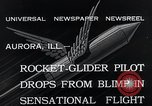 Image of Pilot Bill Swan Aurora Illinois USA, 1935, second 8 stock footage video 65675027481