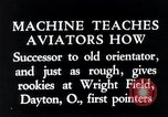 Image of pilot Dayton Ohio USA, 1935, second 4 stock footage video 65675027483