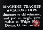 Image of pilot Dayton Ohio USA, 1935, second 9 stock footage video 65675027483