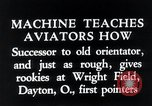 Image of pilot Dayton Ohio USA, 1935, second 10 stock footage video 65675027483