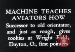 Image of pilot Dayton Ohio USA, 1935, second 11 stock footage video 65675027483