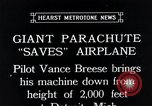 Image of pilot Vance Breese Detroit Michigan, 1935, second 5 stock footage video 65675027484