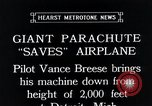 Image of pilot Vance Breese Detroit Michigan, 1935, second 6 stock footage video 65675027484