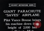 Image of pilot Vance Breese Detroit Michigan, 1935, second 7 stock footage video 65675027484