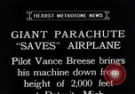 Image of pilot Vance Breese Detroit Michigan, 1935, second 13 stock footage video 65675027484