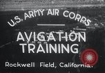Image of Avigation training Rockwell field California USA, 1935, second 1 stock footage video 65675027487