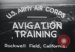Image of Avigation training Rockwell field California USA, 1935, second 2 stock footage video 65675027487