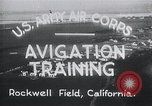 Image of Avigation training Rockwell field California USA, 1935, second 3 stock footage video 65675027487