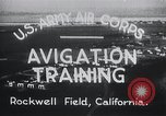 Image of Avigation training Rockwell field California USA, 1935, second 4 stock footage video 65675027487