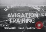 Image of Avigation training Rockwell field California USA, 1935, second 5 stock footage video 65675027487