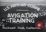 Image of Avigation training Rockwell field California USA, 1935, second 6 stock footage video 65675027487