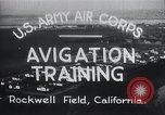 Image of Avigation training Rockwell field California USA, 1935, second 7 stock footage video 65675027487