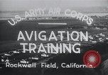 Image of Avigation training Rockwell field California USA, 1935, second 8 stock footage video 65675027487