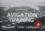 Image of Avigation training Rockwell field California USA, 1935, second 10 stock footage video 65675027487