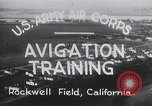Image of Avigation training Rockwell field California USA, 1935, second 11 stock footage video 65675027487