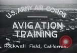 Image of Avigation training Rockwell field California USA, 1935, second 12 stock footage video 65675027487
