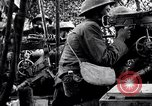 Image of US soldiers firing machine guns Picardy France, 1918, second 2 stock footage video 65675027493