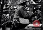 Image of US soldiers firing machine guns Picardy France, 1918, second 5 stock footage video 65675027493