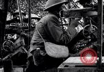 Image of US soldiers firing machine guns Picardy France, 1918, second 6 stock footage video 65675027493