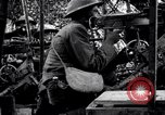 Image of US soldiers firing machine guns Picardy France, 1918, second 7 stock footage video 65675027493
