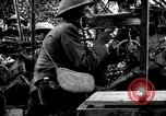 Image of US soldiers firing machine guns Picardy France, 1918, second 9 stock footage video 65675027493