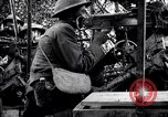 Image of US soldiers firing machine guns Picardy France, 1918, second 10 stock footage video 65675027493