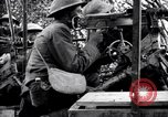 Image of US soldiers firing machine guns Picardy France, 1918, second 11 stock footage video 65675027493