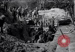 Image of US troops excavating for a dugout Picardy France, 1918, second 1 stock footage video 65675027494