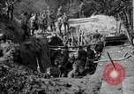 Image of US troops excavating for a dugout Picardy France, 1918, second 3 stock footage video 65675027494