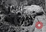 Image of US troops excavating for a dugout Picardy France, 1918, second 4 stock footage video 65675027494